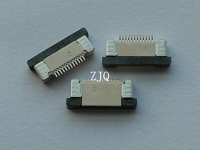 10Pcs FPC FFC 0.5mm Pitch 12 Pin Drawer Type Ribbon Flat Connector Top Contact