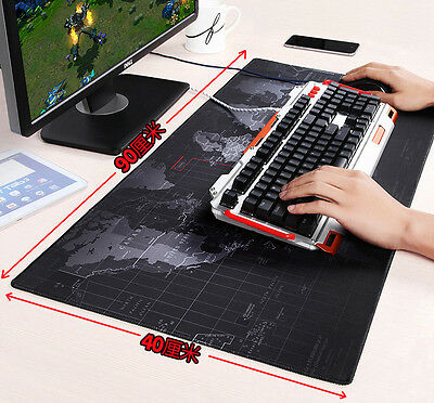 Large Size World Map Speed Game Mouse Pad Mat Laptop Gaming Mousepad 3MM
