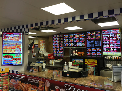 4 Complete Professional Digital Menu - Restaurants -Retail, Become Our Reseller