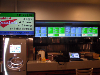 10 Device DMB Digital Menu System with, FTP & Software - BUSINESS OPPORTUNITY