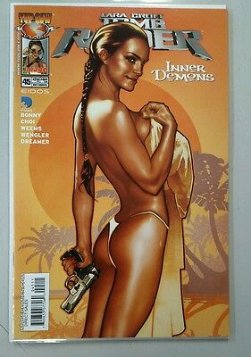 Tomb Raider #45 (Oct 2004) Inner Demons Main Cover Adam Hughes Art Top Cow Image
