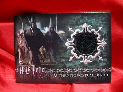 HARRY POTTER Goblet of Fire Book Death Eater Costume Robe Movie Prop Card C13a