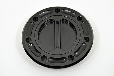 Kawasaki Black Billet Gas Fuel Cap Ninja GPZ250 ZXR-400 ZXR400 L MODEL ZXR250