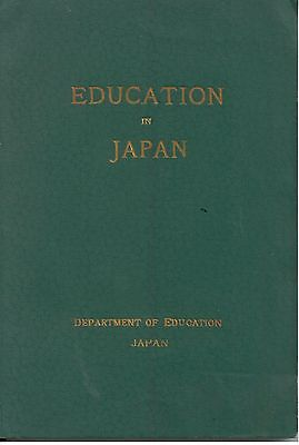 """""""Education in Japan"""" - PPIE 1915 Panama Pacific Int'l Expo Booklet/Brochure"""