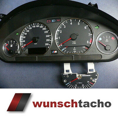 "speedometer speedometer dial for BMW E36 Petrol "" M3"" 280Km/h Top"