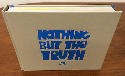 Rare Mint Nike Sb Nothing But The Truth Book & Dvd Brian Anderson Skateboarding