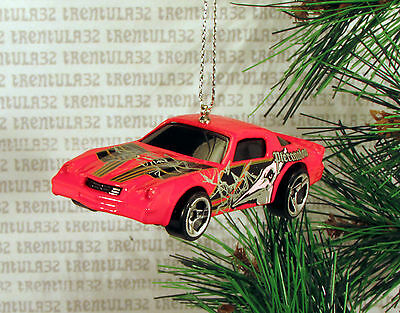 Pteranodon 1979 Chevy Camaro Z28 '79 Red Black Chevrolet Christmas Ornament Xmas