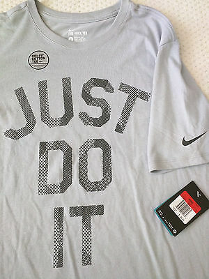 Nike Aop Plays Just Do It Dri Fit Basketball Tee NWT