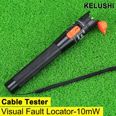 10mW Visual Fault Locator Pen Type Fiber OpticalCable Tester Meter For CATV 10KM