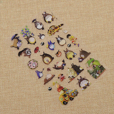 Cute Cartton Totoro Stickers DIY Decorative Scrapbooking Diary Album Anime