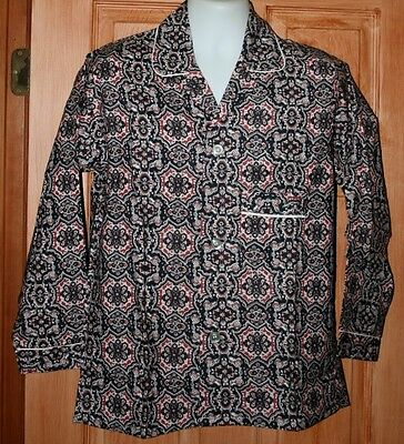 Vintage Mens' Two Piece Pajamas New Old Stock Restwell Sanforized Flannel M Usa