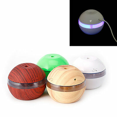 Essential Ultrasonic Oil Diffuser Aromatherapy Aroma Humidifier Air LED Mini New