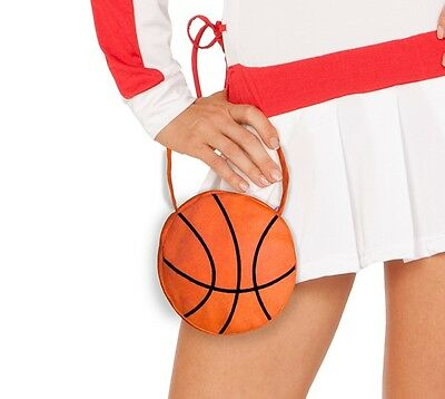 new ELEGANT MOMENTS athletic BASKETBALL mini BAG purse PARTY costume ACCESSORY