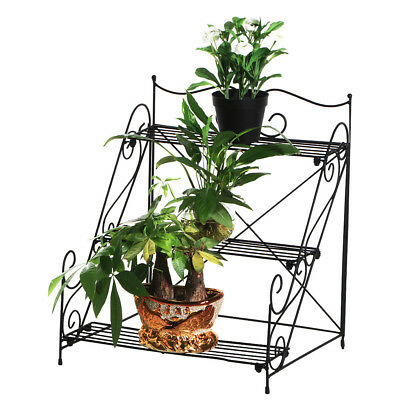 3 Tier Flower Plant Stand Garden Plant Rack Pot Display Shelf Decorative In-Out