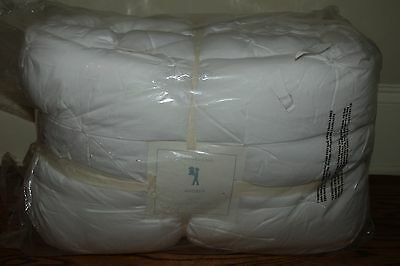 NWT Pottery Barn Kids Audrey FQ quilt white full queen f/q