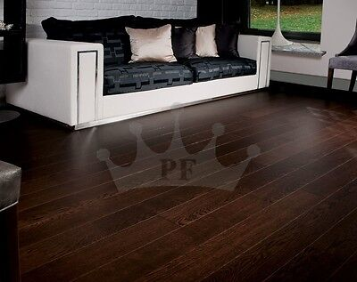 Solid Oak Flooring Brushed and Lacquered 150mm x 20mm Wood Floor Hardwood