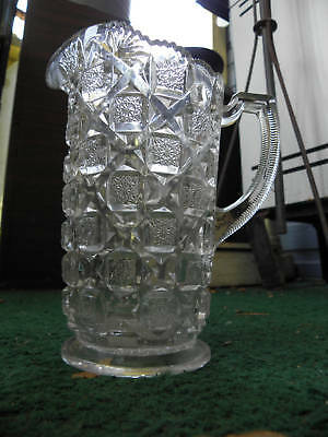 Eapg American Pressed Glass Small Pitcher