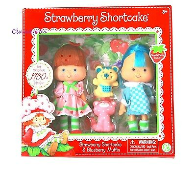 Strawberry Shortcake Blueberry Muffin Dolls & Pets 1980 Reproduction NEW