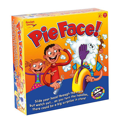 Pie Face Game Fun Filled Suspense Edition Toy Family Party Showdown Gift Xmas
