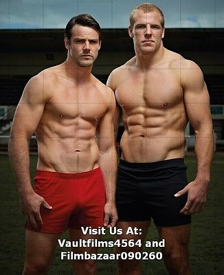 "JAMES HASKELL - BEN FODEN - RUGBY - GAY INTEREST - 10"" x 8"" Photograph #2901"