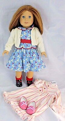 American Girl Doll Emily Bennett & Nightshirt Outfit Pleasant Company