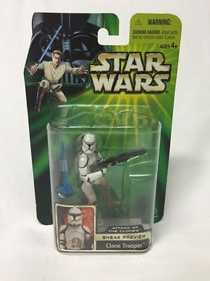 """Hasbro CloneTrooper """"Attack of the Clones-Star Wars Power of the Jedi Collection"""