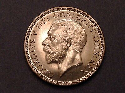 - 1927 Great Britain Proof Shilling  George V - only 15,000 minted