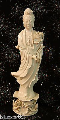 Quan Yin Vintage Goddess Figurine Porcelain Guan Yin Chinese From Eclectic Cool