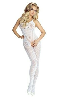 Catsuit Bodystocking ouvert 34-38 OS Reizwäsche Dessous  PR4680 Provocative