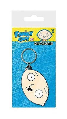 Family Guy Stewie Griffin Rubber Keychain
