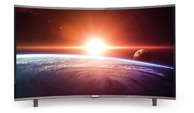 "CTV550TS Televisore TV CURVO LED 55"" FULL HD Akai"