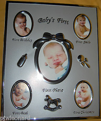 BABY'S FIRST, Photo Frame