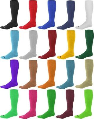Pro Feet Multi-Sport Sock Solid Color Acrylic Team Soccer Baseball Softball Tee
