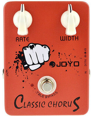 Joyo JF-05 Classic Chorus True Bypass Electric Guitar Effect Pedal