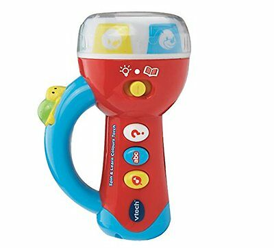 VTech Baby Spin and Learn Colours Torch