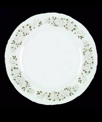 Four (4) Sheffield Fine China Classic 501 Dinner Plates 10 1/4 inches
