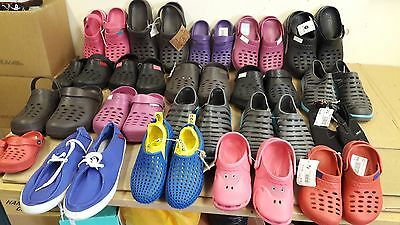 Wholesale Joblot of Footwear.20 Pairs of assorted Sandals/Beach Shoes Ex Display