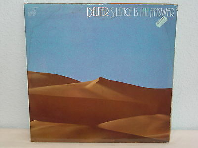 """*****DEUTER""""SILENCE IS THE ANSWER""""-12""""Inch DoLP*****"""