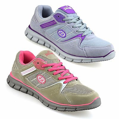 Ladies Womens New Casual Running Walking Gym Sports Fitness Trainers Shoes Size