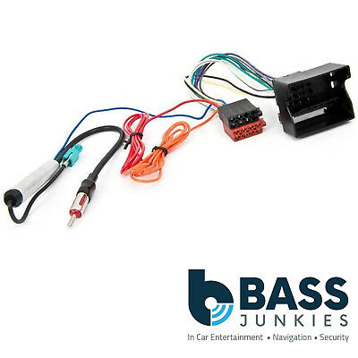 Vauxhall Astra H 2004 On Car Stereo Aerial & ISO Wiring Harness Adapter PC2-85-4