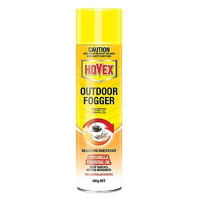Hovex OUTDOOR FOGGER for Flies, Mosquitoes, and Midges Control, Kills Fast, 400g