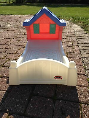 RETIRED-Little Tikes Doll Bed Child/SZ.Storybook Cottage Doll Bed Pink & White