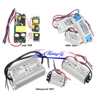 New Constant Current LED Driver 1W 3W 5W 10W 20W 30W 50W 100W LED Power Supply
