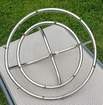 Stainless Steel Water Ring Water Fountian Feature 450mm