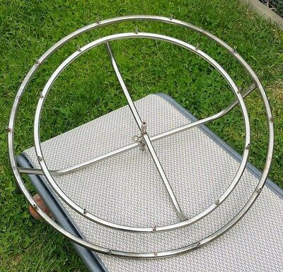 Stainless Steel Water Ring Water Fountian Feature 690mm