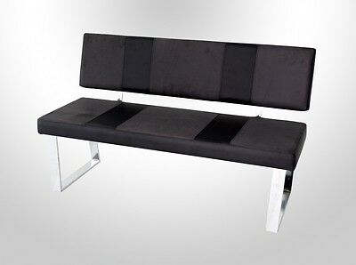 sitzbank mit lehnen k chen bank r ckenlehne braun kolonial. Black Bedroom Furniture Sets. Home Design Ideas