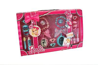 Barbie! Fashion Boutique Beauty Case! Makeup Kit! Little Girl Cosmetic Gift Set!