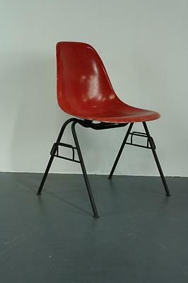 All Original Eames Dss Side Chair Herman Miller Stacking Base Midcentury #1820