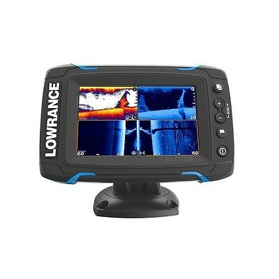 Lowrance 000-12423-001  Elite5 Ti Touch Combo Totalscan Transom Mount