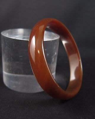 Superb Chinese brown jade bangle
